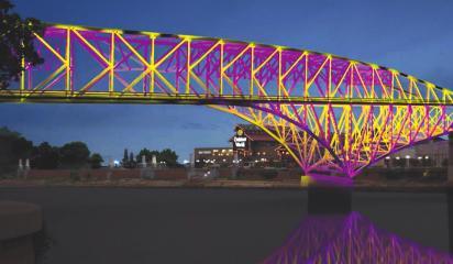 Bakowski Bridge of Lights to be welcoming beacon in Shreveport / Bossier