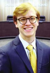 C.E. Byrd senior selected for prestigious U.S. Senate Youth Program