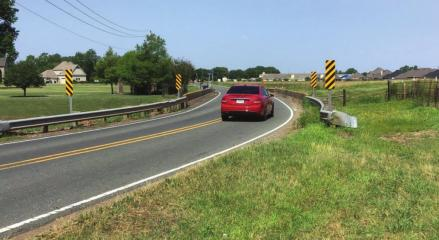 Swan Lake Road gets repairs at both ends