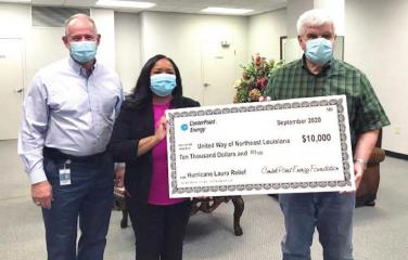 CenterPoint Energy makes donations to local non-profits assisting with Hurricane Laura recovery