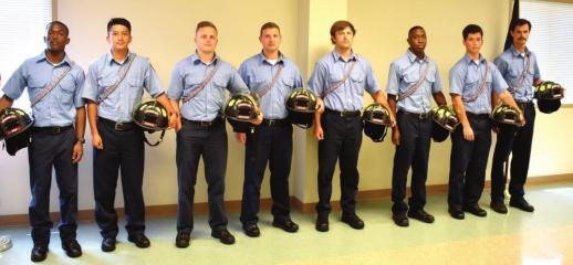 Bossier City firefighter recruits graduate academy via Zoom
