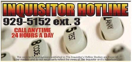 INQUISITOR HOTLINE