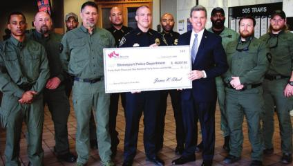 Willis-Knighton Health System awards $48,237 grant to Shreveport Police Department