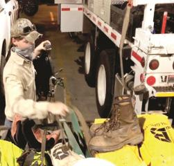 SWEPCO crews head to Florida in preparation of Hurricane Sally