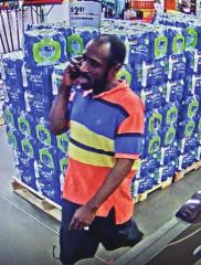 Police seek ID of theft suspect