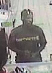 Identity of Circle K theft suspect sought