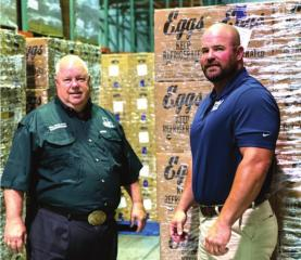 Egg donation to Louisiana food banks