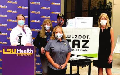 Lions Club donates masks and equipment