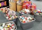 Bossier Sheriff's Office collecting food to give for Operation Blessing